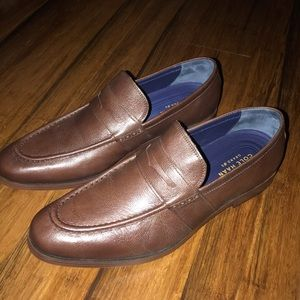 New men's Cole Haan Jefferson loafers 13m- Brown